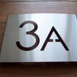 Huisnummerbord type A-01