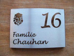 HuisnummerGigant C-01 naambord 2