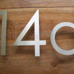 RVS cijfers en letters