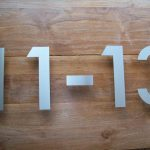 RVS huisnummers in losse cijfers