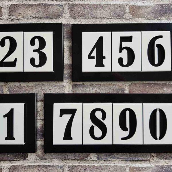 number2go huisnummerbord